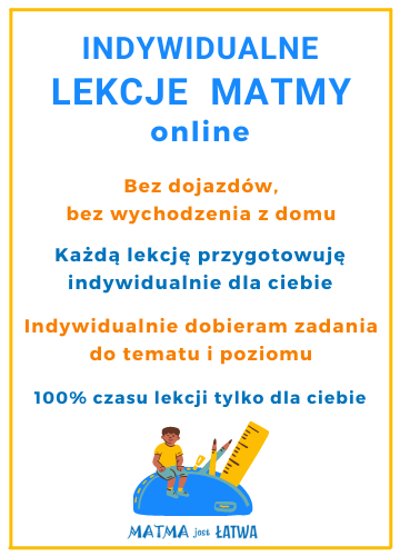 baner lekcje matematyki online