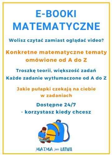 baner matematyczne ebooki