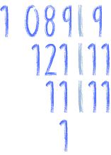 pierwiastek z 1089