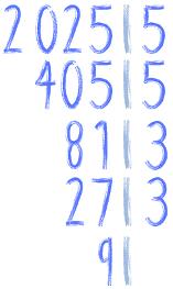 rozkład liczby 2025 na czynniki