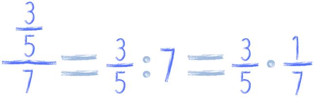 dzielenie ułamka przez liczbę